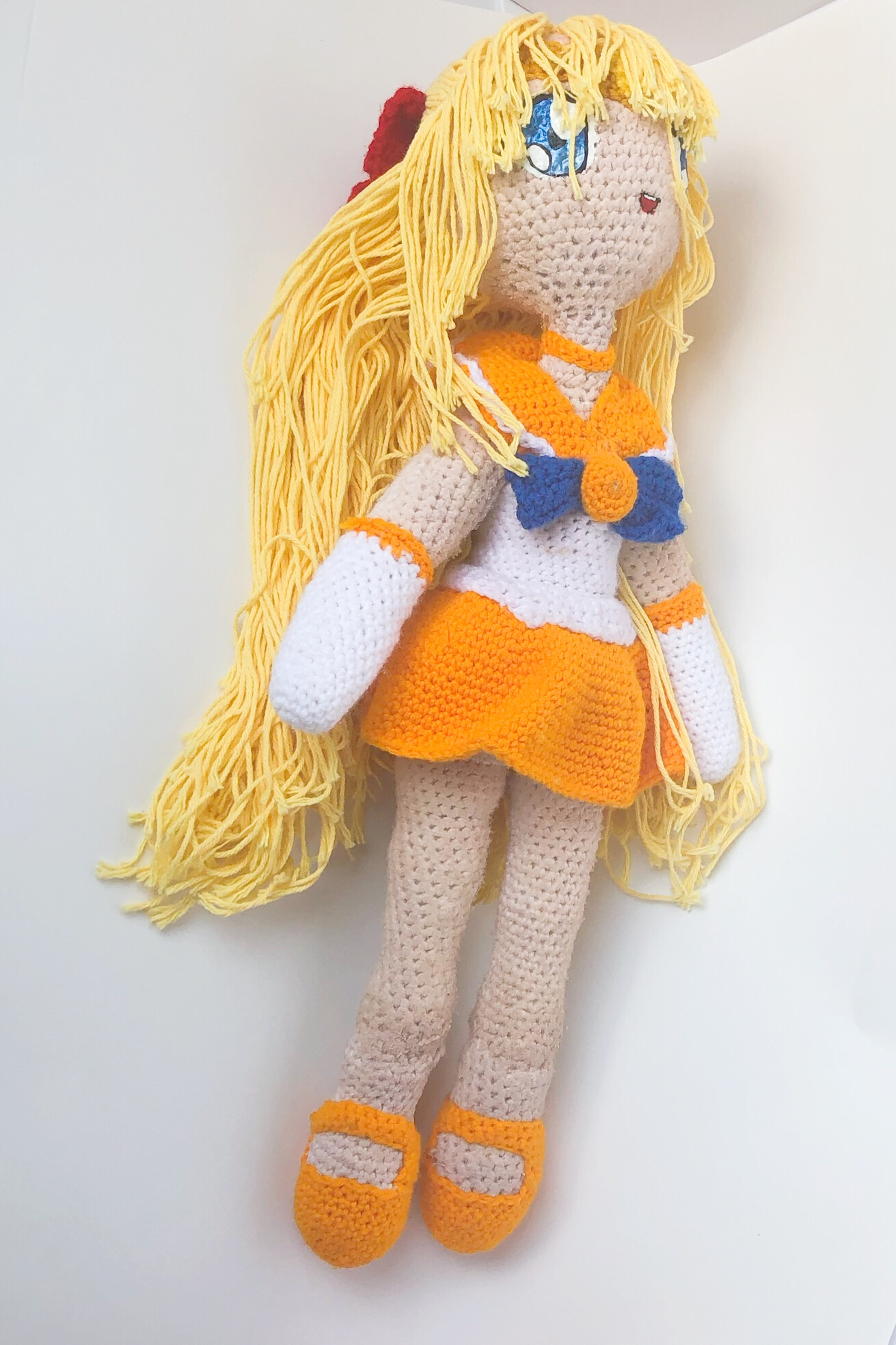 Baby Bean Doll (Free Amigurumi Crochet Pattern, Human Body Doll ... | 1968x1311