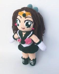 sailor_jupiter_crochet_doll
