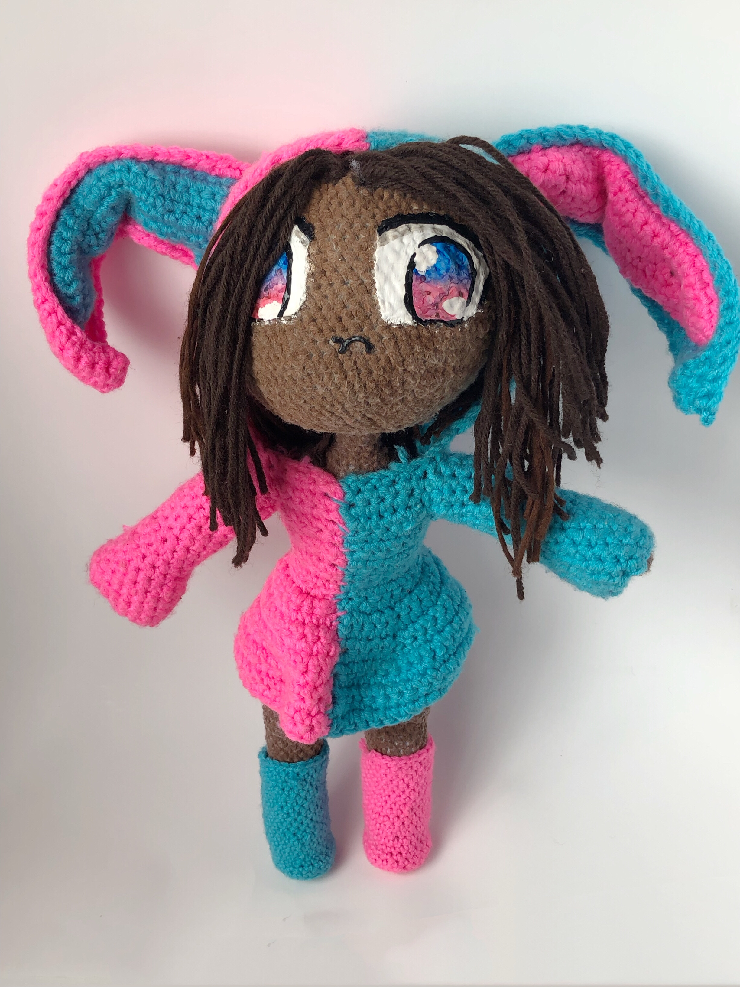 Ravelry: Amigurumi Bunny in Hoodie pattern by Marina B   3264x2448
