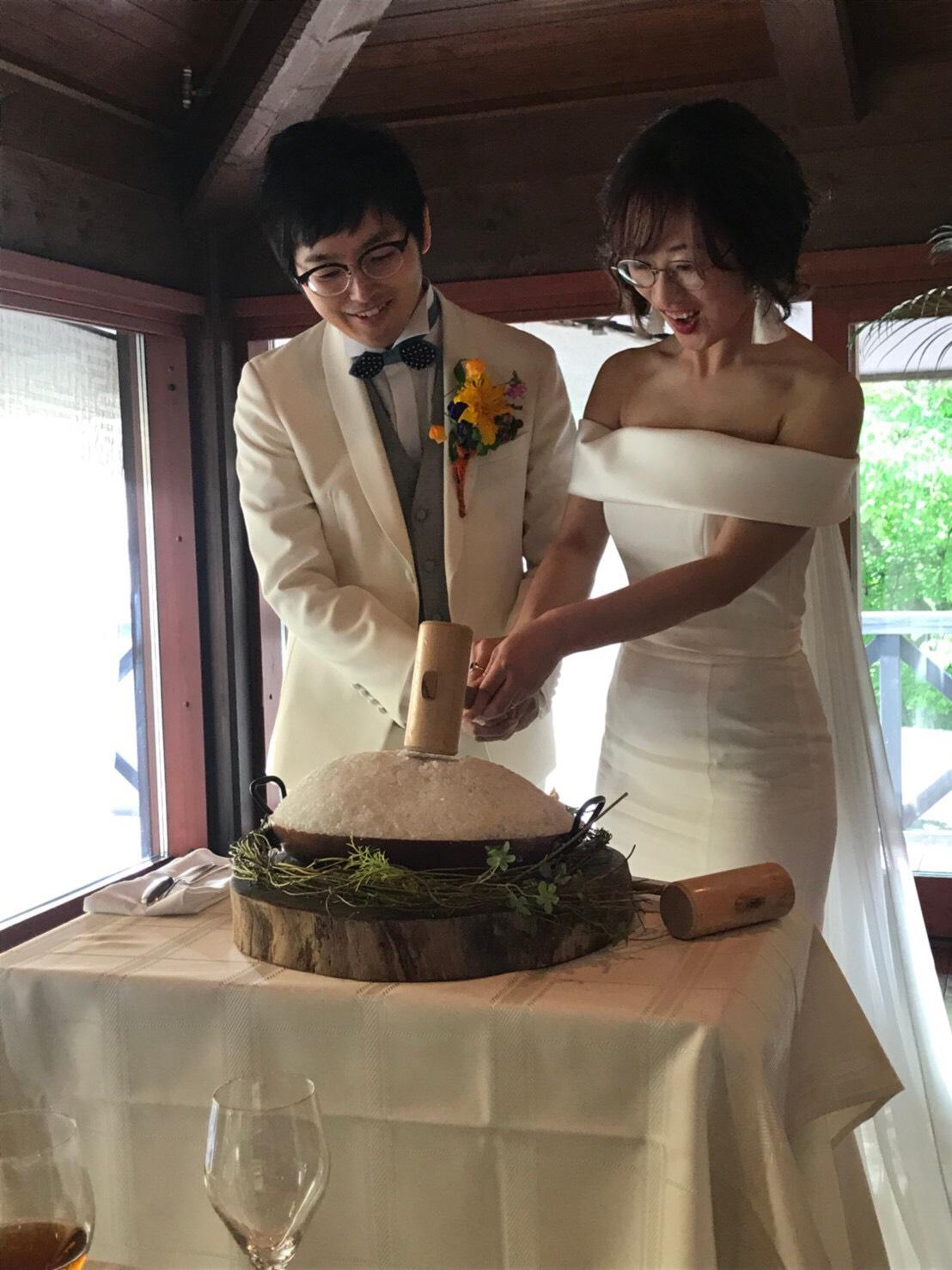 Happy wedding 朝ヨガ