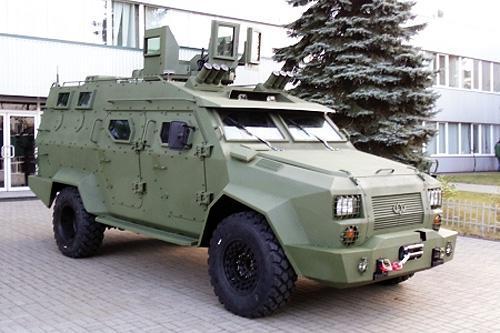 У лютому розпочнуться державні випробування тактичного броньованого автомобілю «Барс»