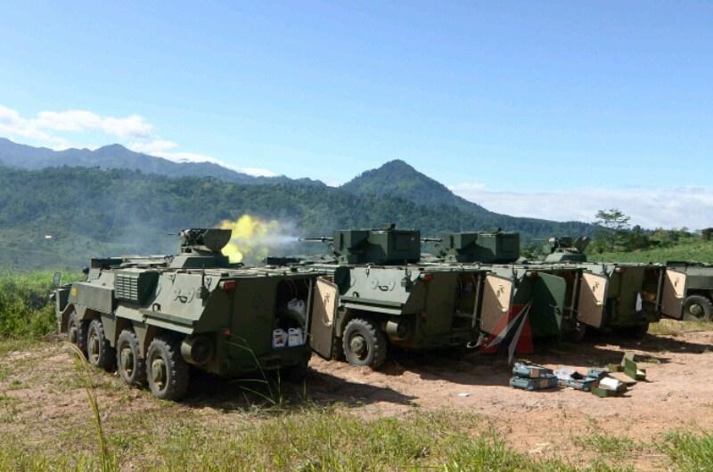 В Індонезії проведено вогневі випрбування Українських БТР-4М