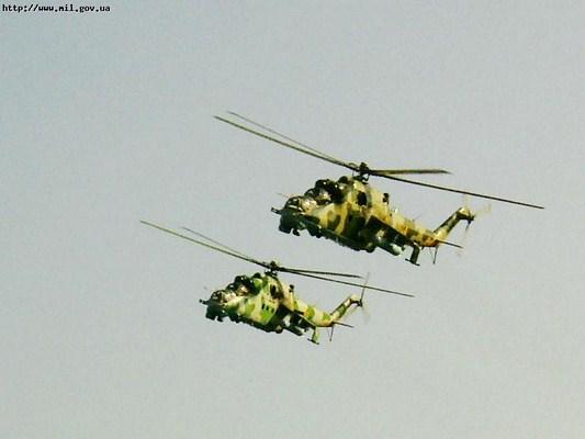 АДЕКВАТНЕ РЕАГУВАННЯ-2011. Ударні вертольоти на Буковині