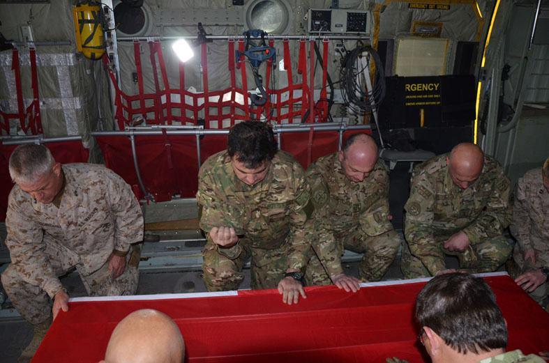 Саакашвілі відвідав грузинську базу в Афганістані