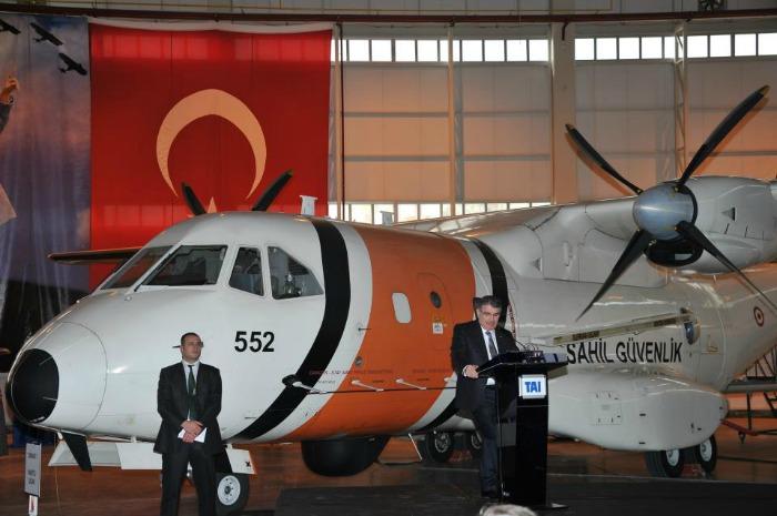 Берегова оборони Туреччини отримала CASA CN-235MPA