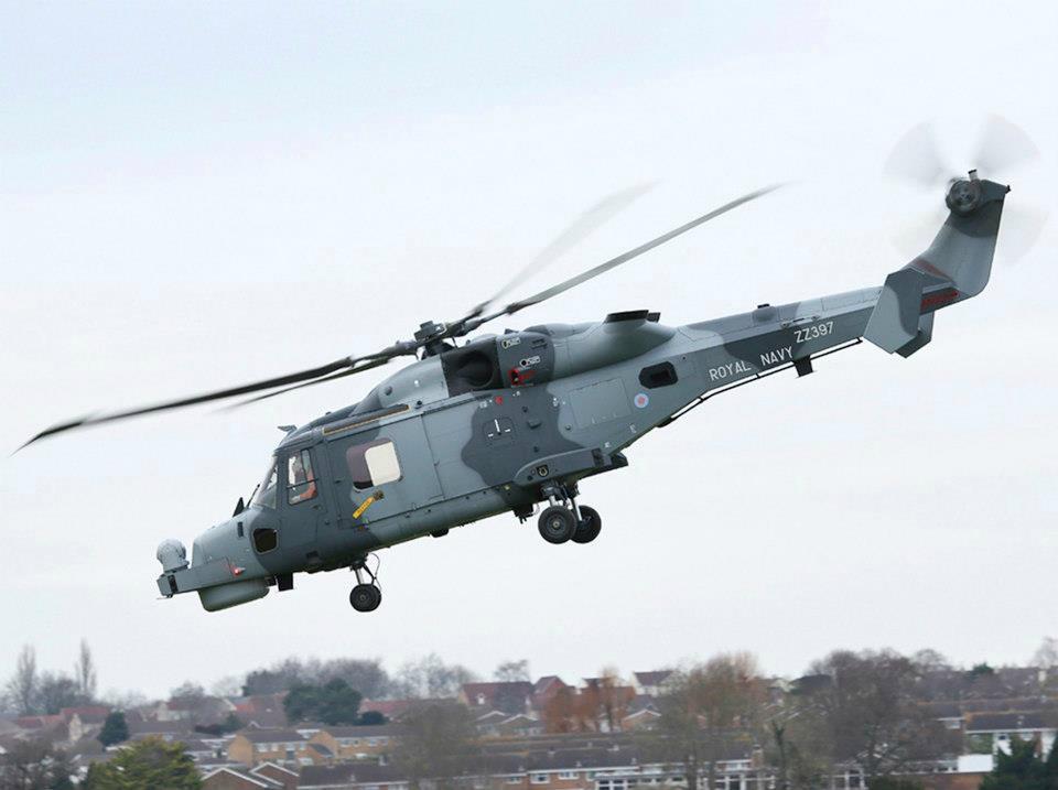 Перший політ серійного WILDCAT HMA MK2