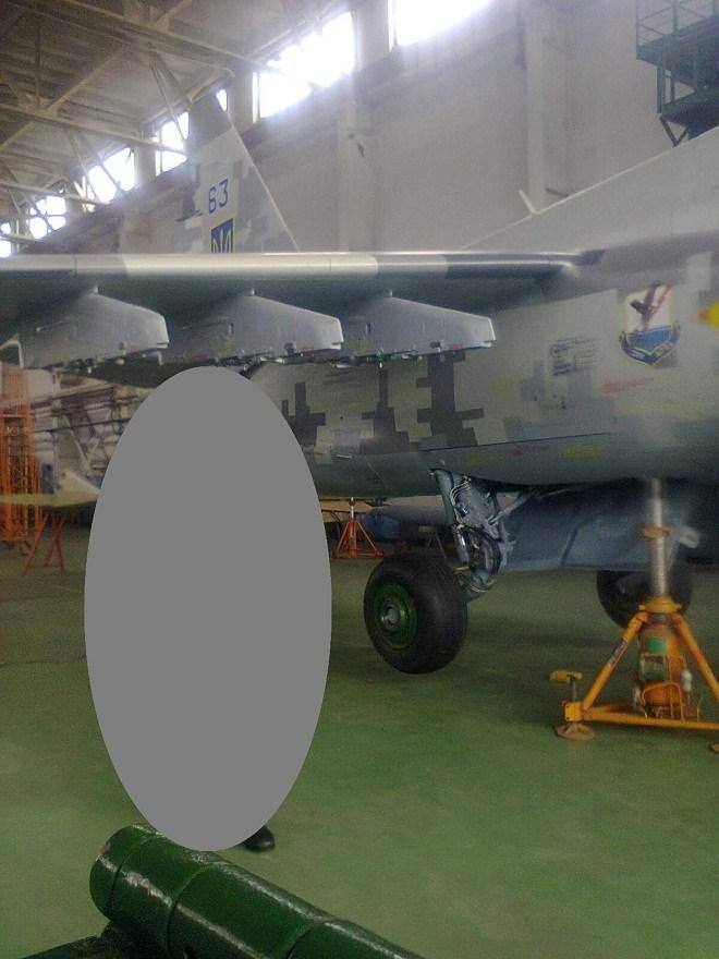 Повітряні сили України отримають відновлений штурмовик Су-25УБ