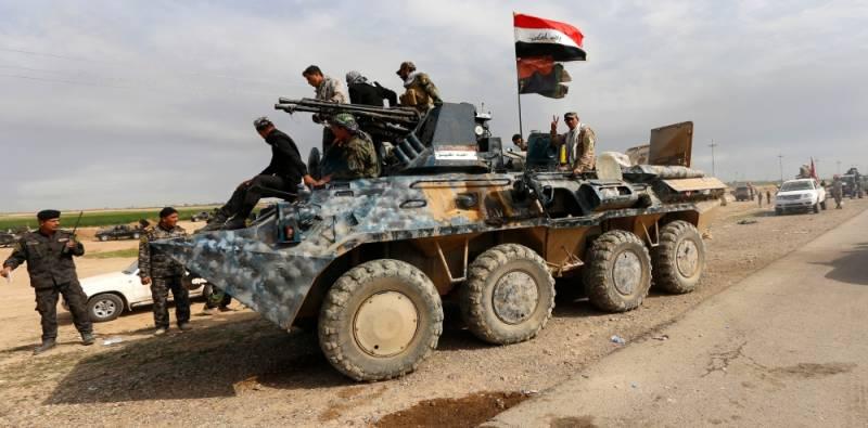 Іракські БТР-94 та бойовий модуль БАУ 23×2