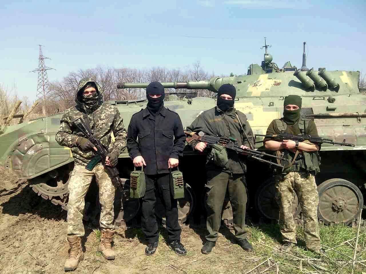 ЗВІТ. Партія м'яких коробів доставлена для 93 механізованої бригади