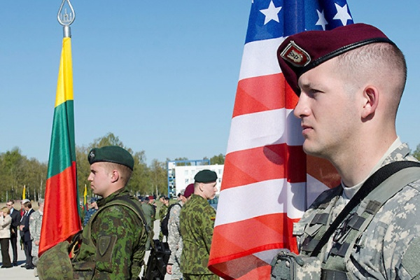 Американські військові, що прибули до Литви розпочали спільні тренування з литовською армією.