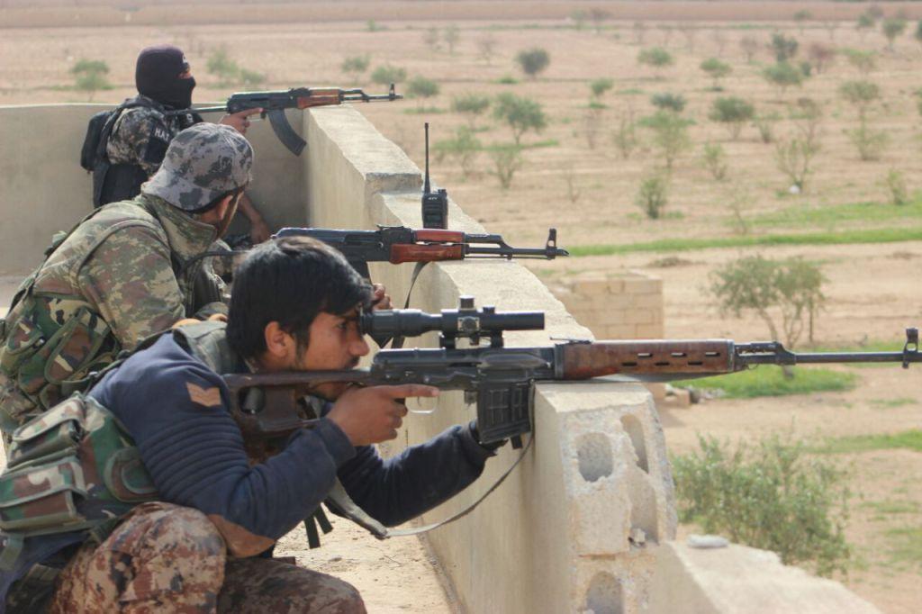 Бійці СДА проводять успішний наступ поблизу Ракки