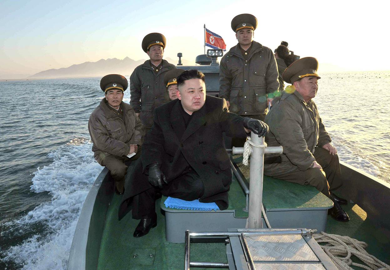 Морський рубіж корейської кризи.