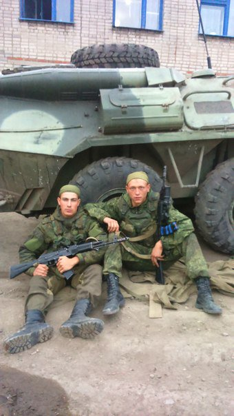 Бійці російсько-окупаційного контингенту