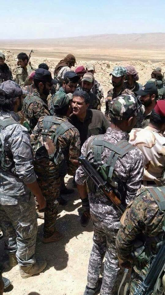 Збройні Сили Іракувийшли на кордон з Сирією на півночі країни.