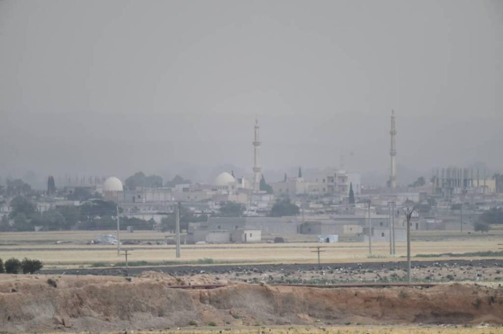 Фотографії східних околиць Ракки