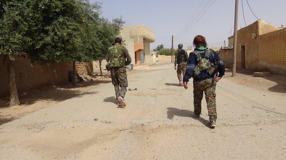 Сирія: СДА продовжує наступ на Ракку