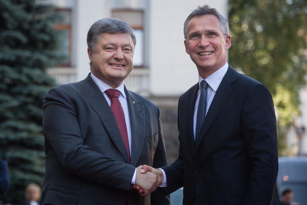 До України прибув Генеральний секретар НАТО