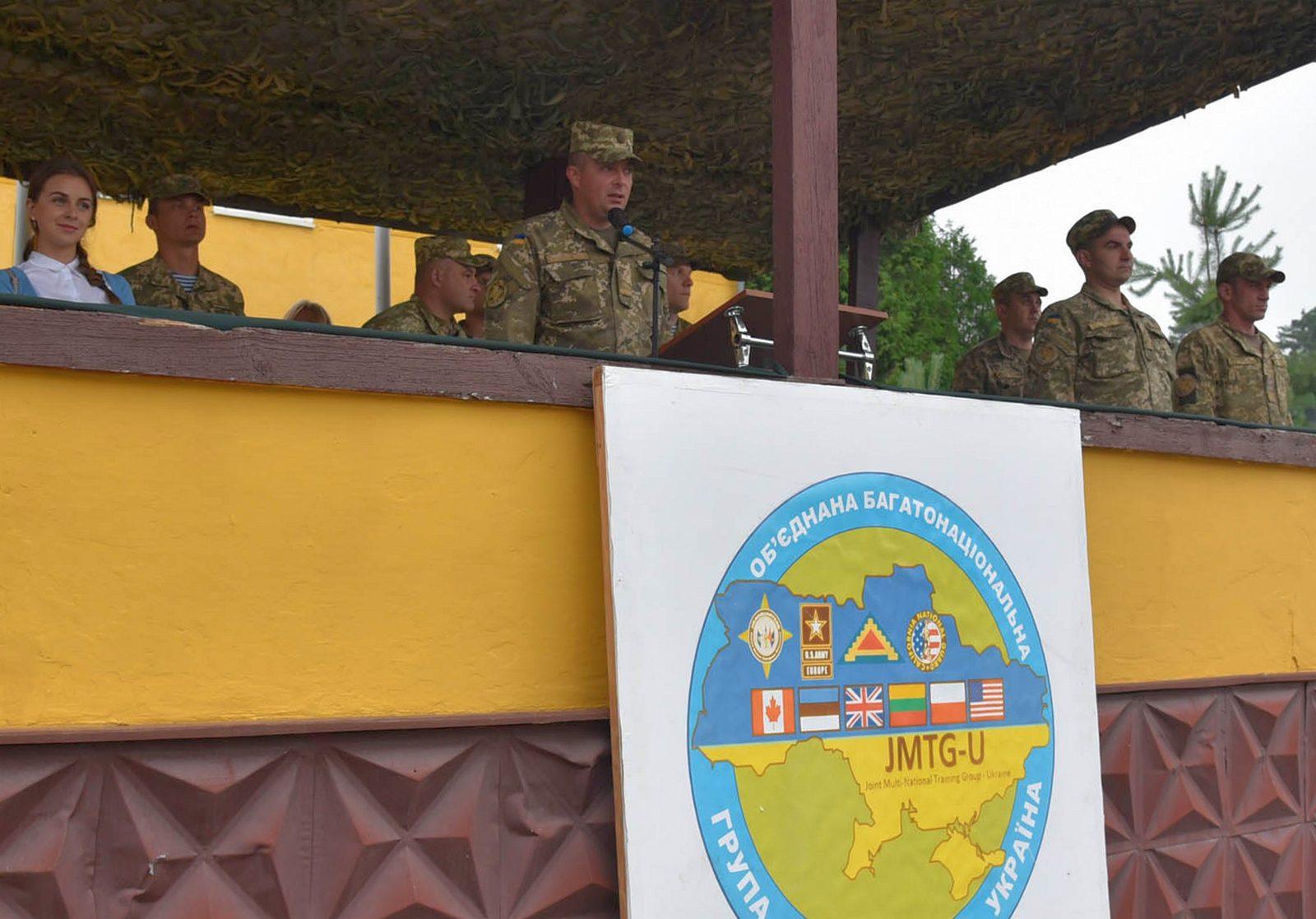 Підрозділ десантників пройшов підготовку за програмою JMTG-U