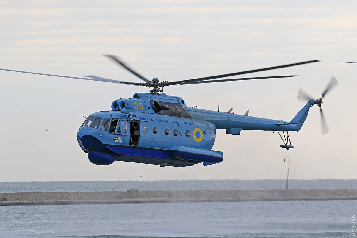 ВМС України отримали відремонтований вертоліт