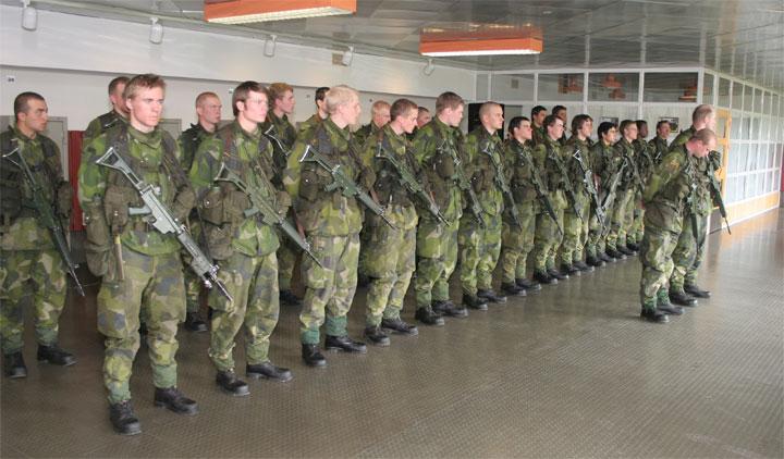 Швеція проводить найбільші за останні 23 роки військові навчання