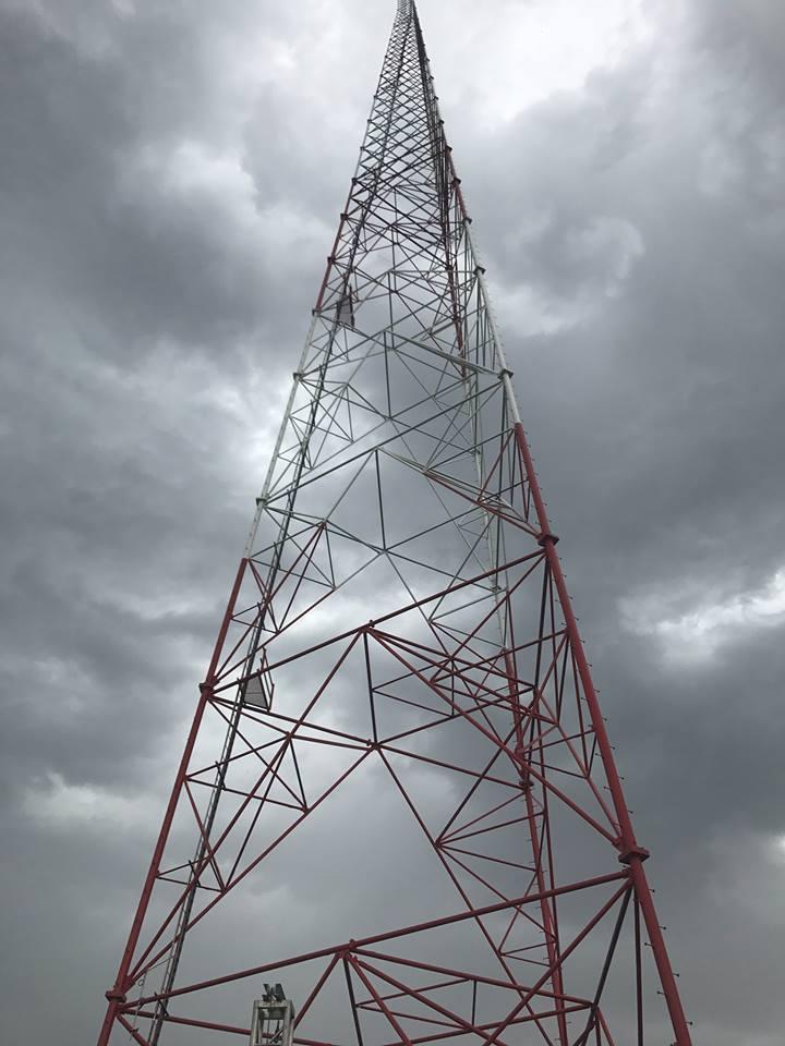 Інформаційна війна: сигнал з нової 134-метрової телевежі сягає навіть Довжанська