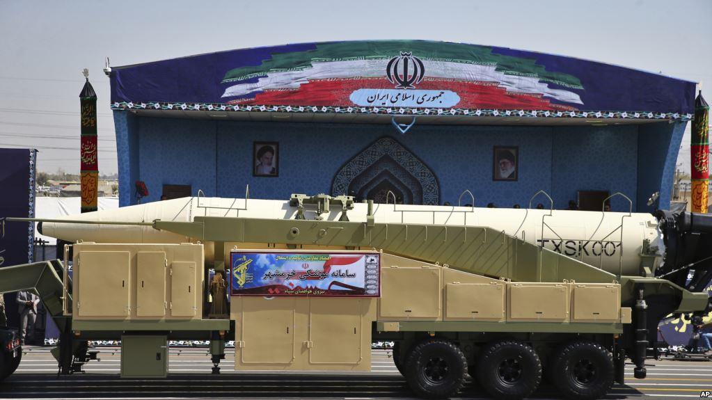 В минулу суботу Іран здійснив успішне випробування балістичної ракети