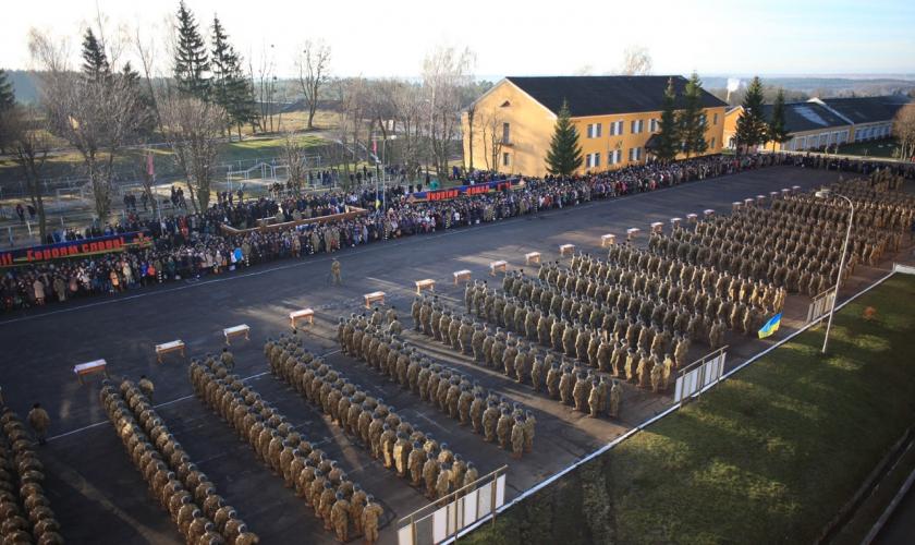 Стан готовності 184 Навчального центру до прийому солдатів строкової служби