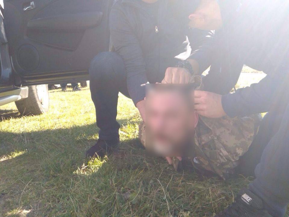 Національною поліцією та СБУ двох зловмисників, причетних до низки диверсій на території України