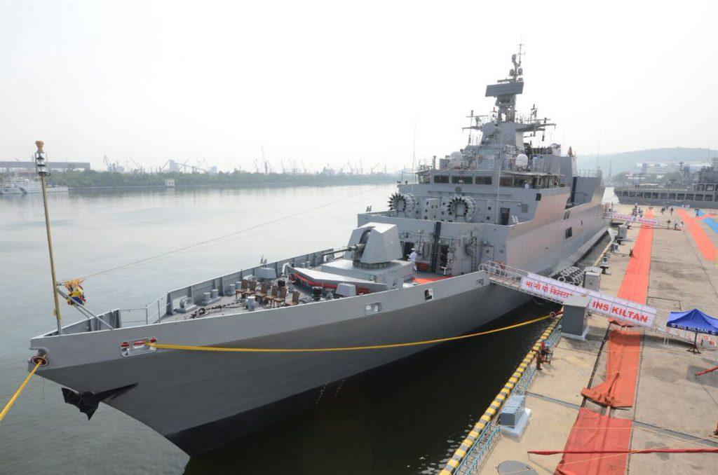ВМС Індії поповнились третім корветом класу Kamorta