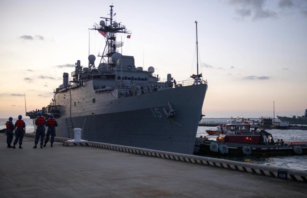 Зі складу ВМС США виведений десантний корабель USS Ponce