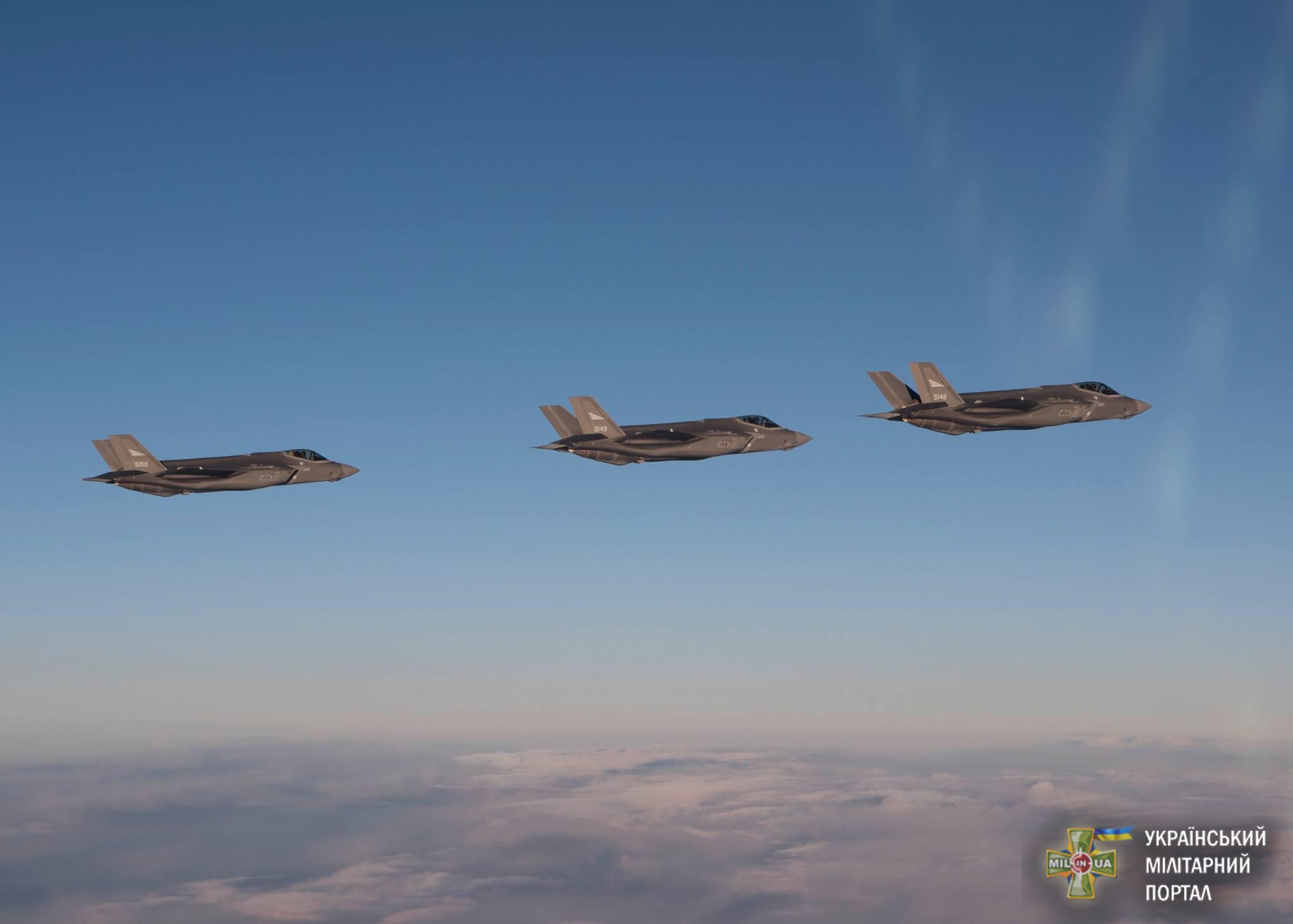 Норвегія отримала перші F-35 для своїх ВПС