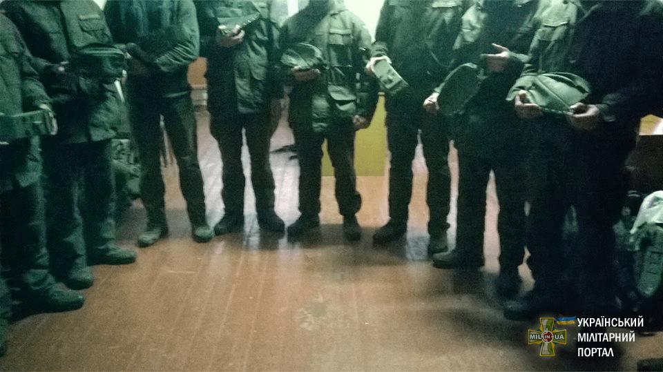 Фотозвіт по отриманню м'яких коробів 2-м батальйоном Бригади швидкого реагування НГУ