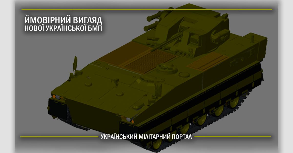 Ймовірний вигляд нової української БМП