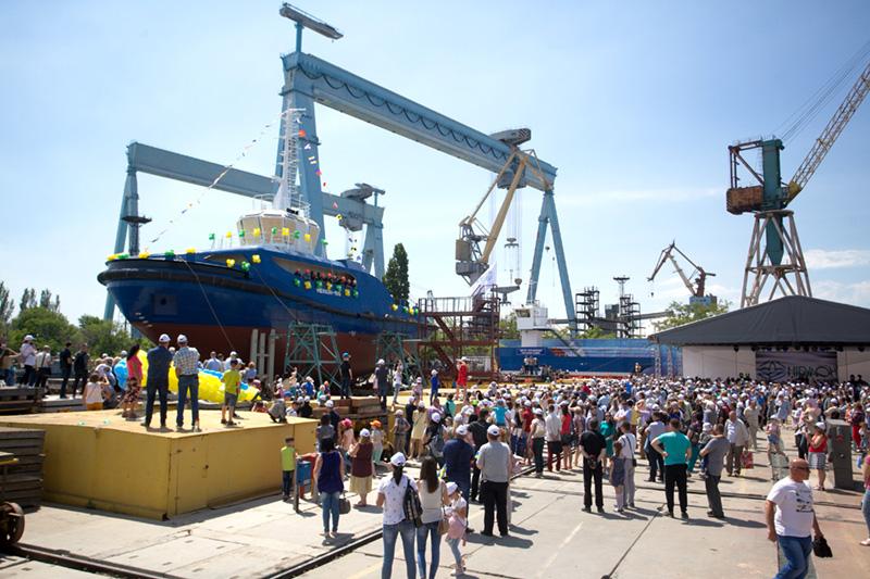 Презентація реконструкції суднобудівного заводу НІБУЛОН