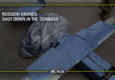 Russian drones shot down in the Donbass