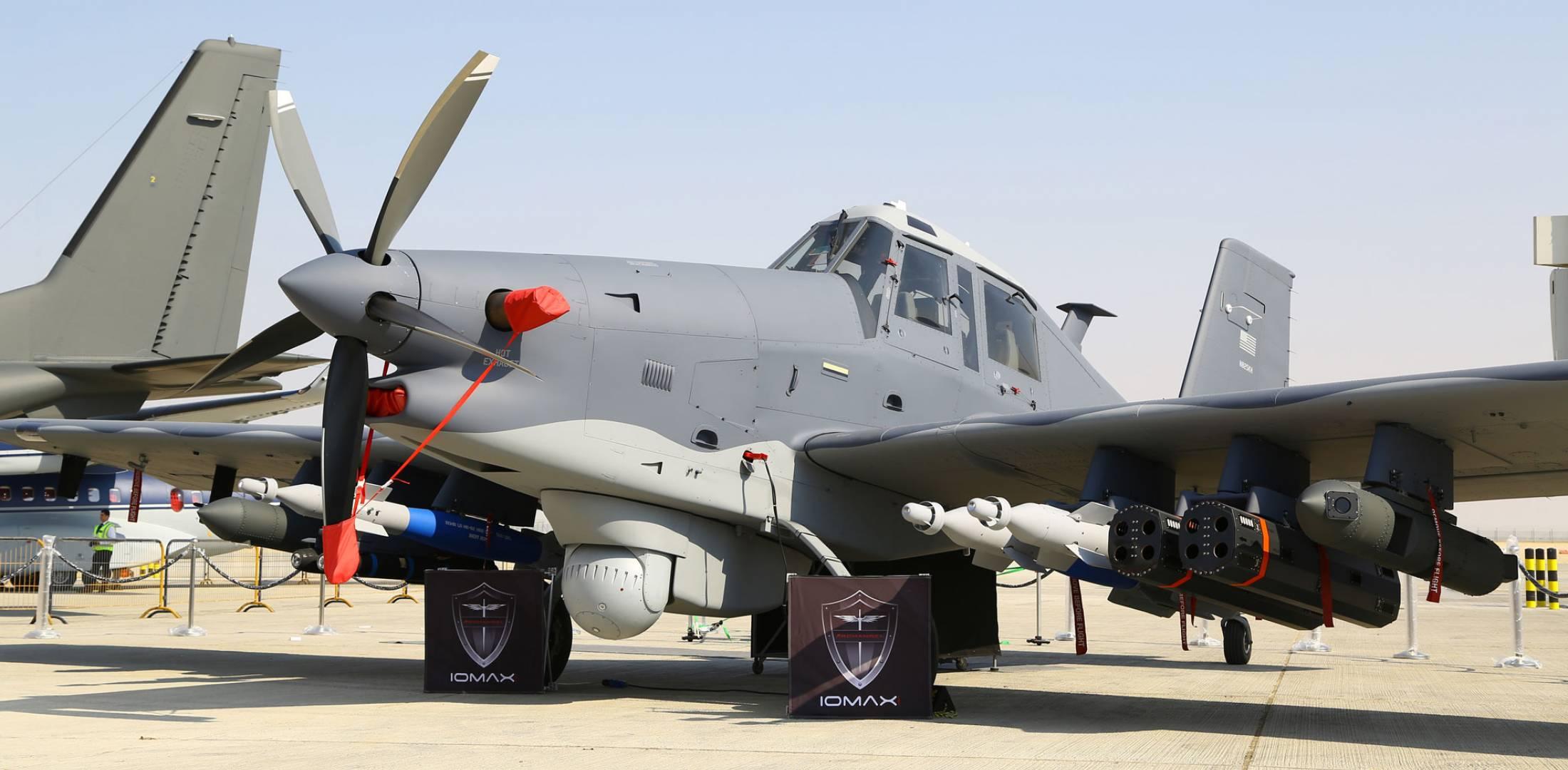 Лёгкие турбовинтовые самолёты военного и прочего иного предназначения