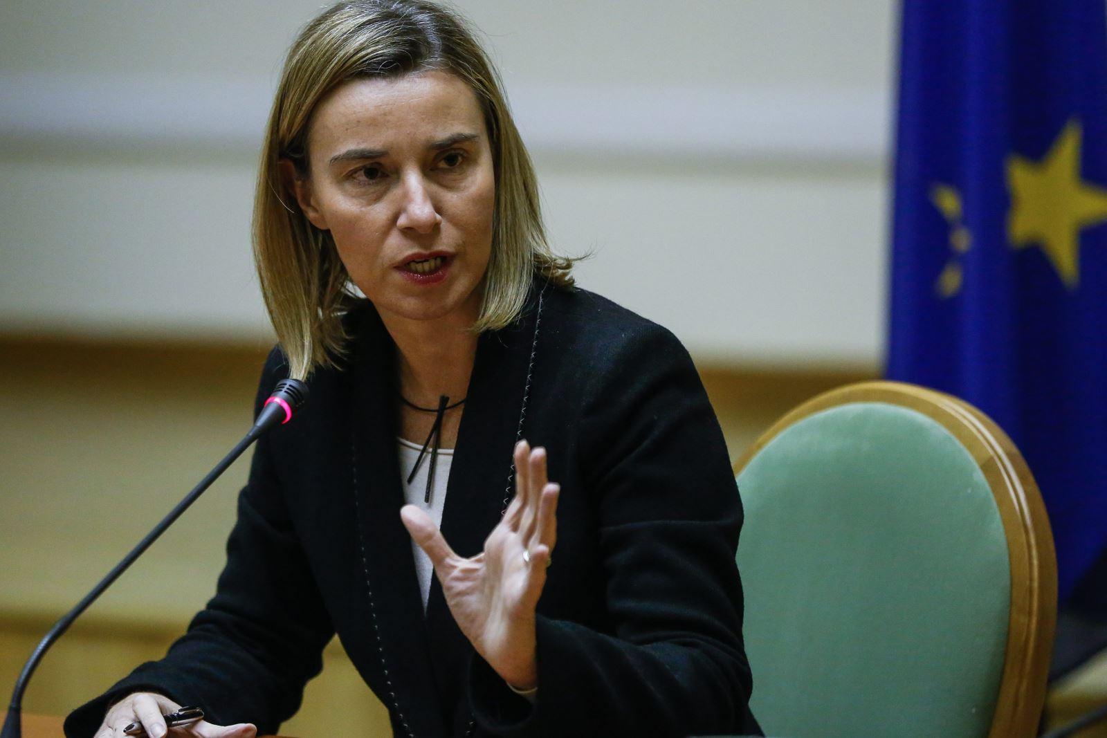 Ключові моменти виступу Ф. Могеріні по Азову в ЄП 23.10.2018