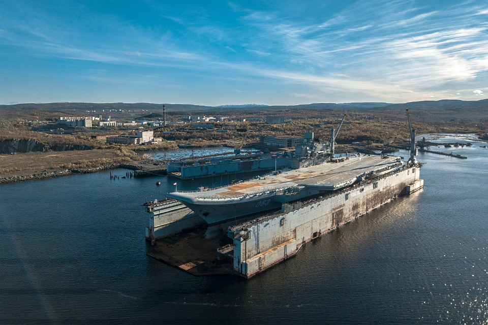 Неплавучий док Північного флоту