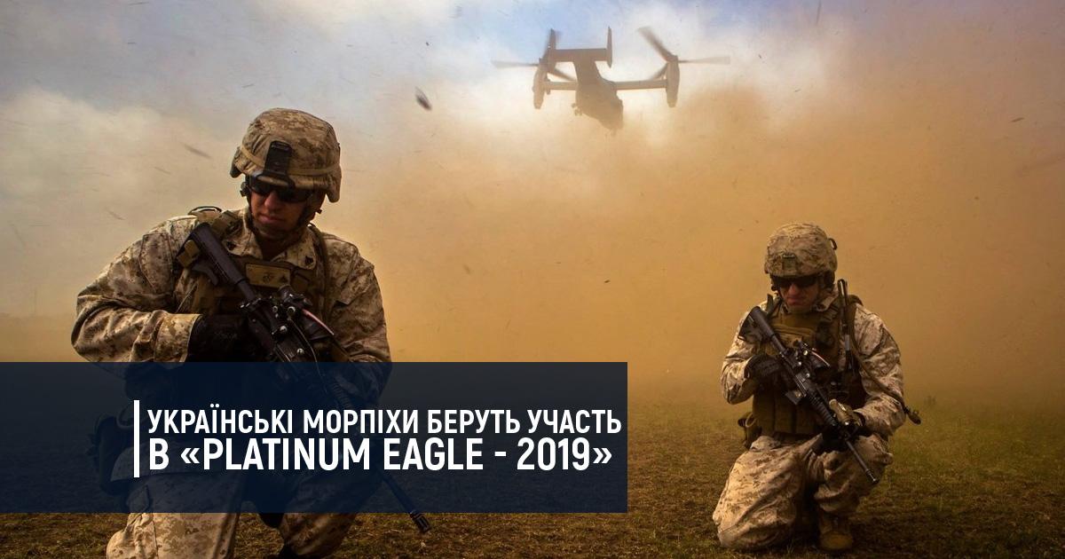 Українські морпіхи беруть участь в «Platinum Eagle – 2019»