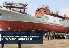 A new reinforcement for the Ukrainian Navy: New ship launched