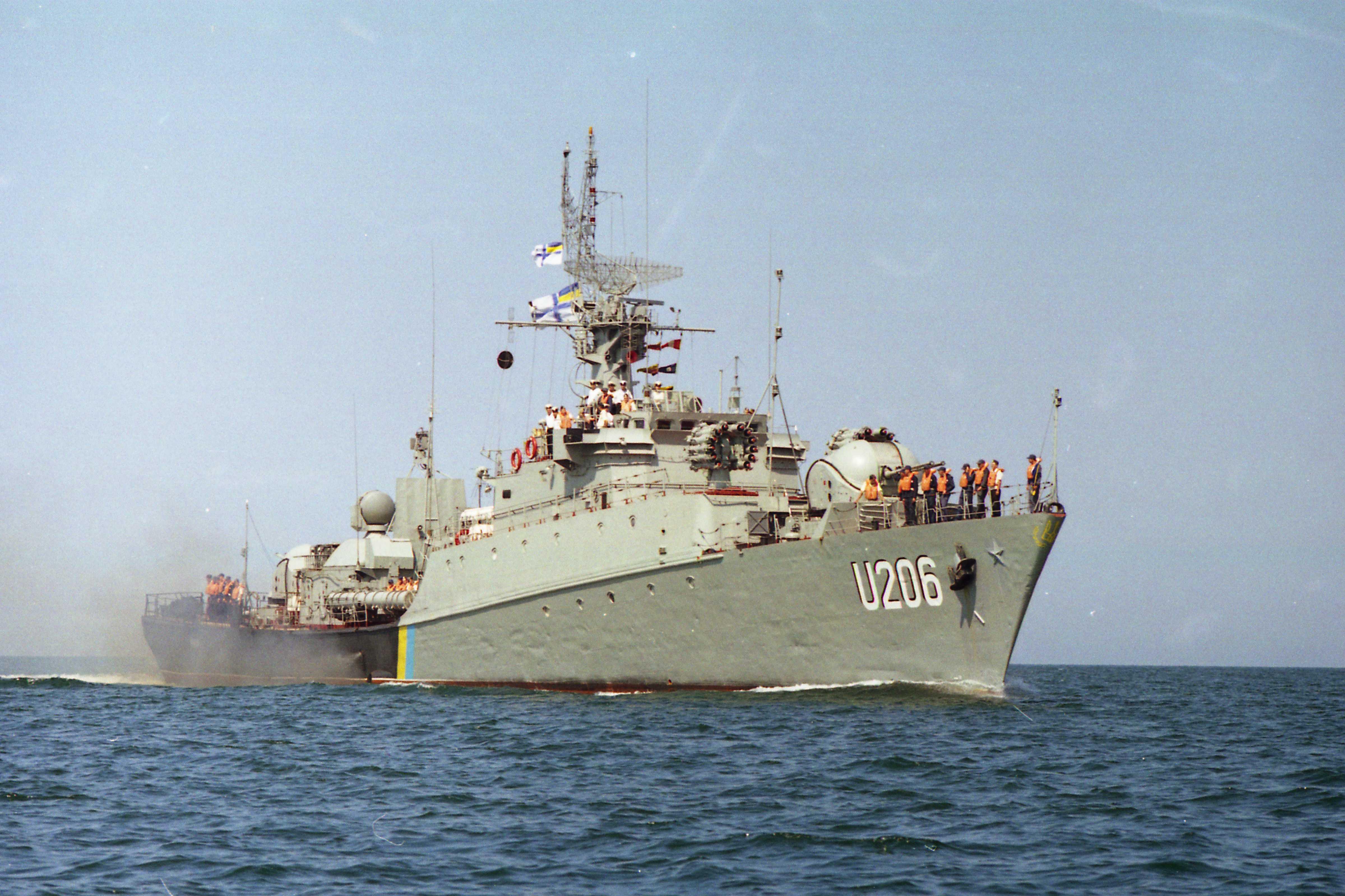 ВМСУ спишуть корвет Вінниця до кінця року
