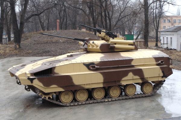 ХБТРЗ створив нову БМП на базі Т-64