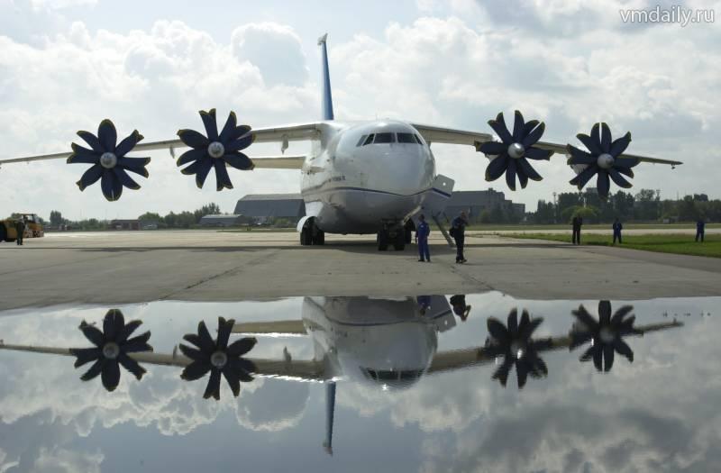 Перший серійний Ан-70 забере Україна