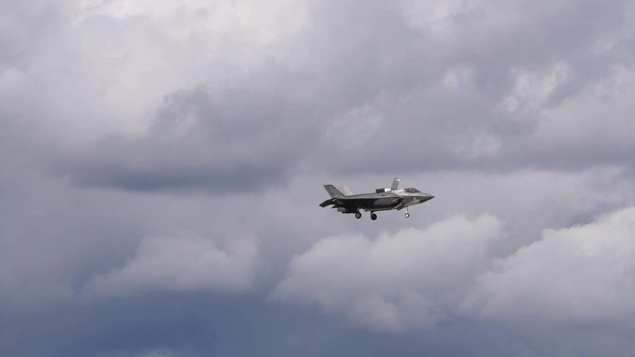 Неймовірний виступ F-35 у Фарнборо