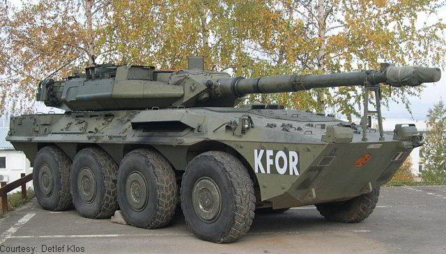Колумбія хоче закупити колісний танк Centauro B1