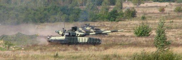 Т-64БВ під час навчань