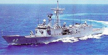 Візит фрегата ВМС США Клакрінг до Севастополя  (ФОТОРЕПОРТАЖ)