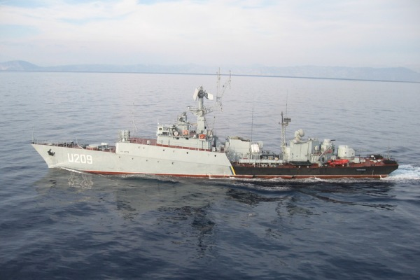 """U-209 Корвет """"Тернопіль"""""""