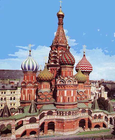 Храм Василия Блаженного. Храмы Москвы