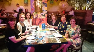 Yanira, moi, Belén, Mildred, Francia y Alicia